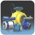 GBA Forged Trunion Ball Valve