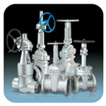 GBA Cast Steel Gate Valve