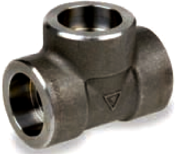 Tee Class #3000 Socket Welded Astm A105N