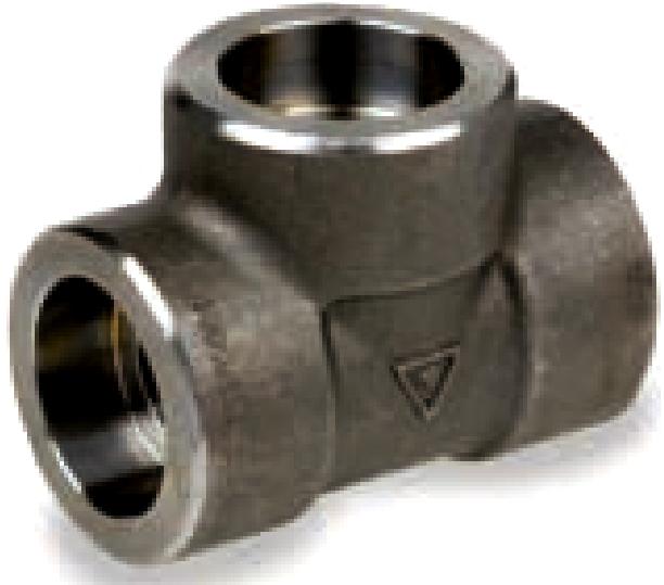 Fittings tee class socket welded astm a n pt