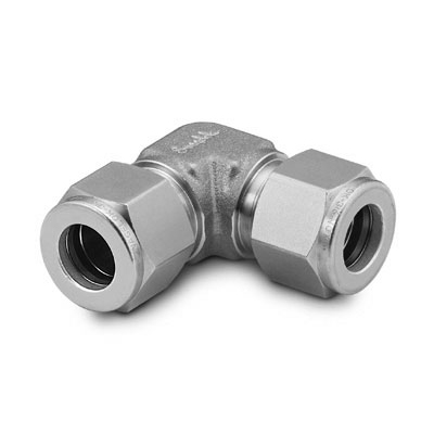 Swagelok Stainless Steel Tube Fitting, Union Elbow, 1/4 in. Tube OD