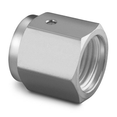 Swagelok 316 Stainless Steel VCR Face Seal Fitting, 1/4 in. Female Nut