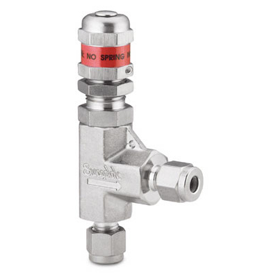 Swagelok Stainless Steel High Pressure Proportional Relief Valve, Swagelok Tube Fitting