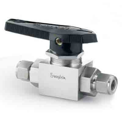 Stainless Steel 3-Piece High Pressure Alternative Fuel Service Ball Valve, 7.1 Cv, 3/4 in. Swagelok Tube Fitting