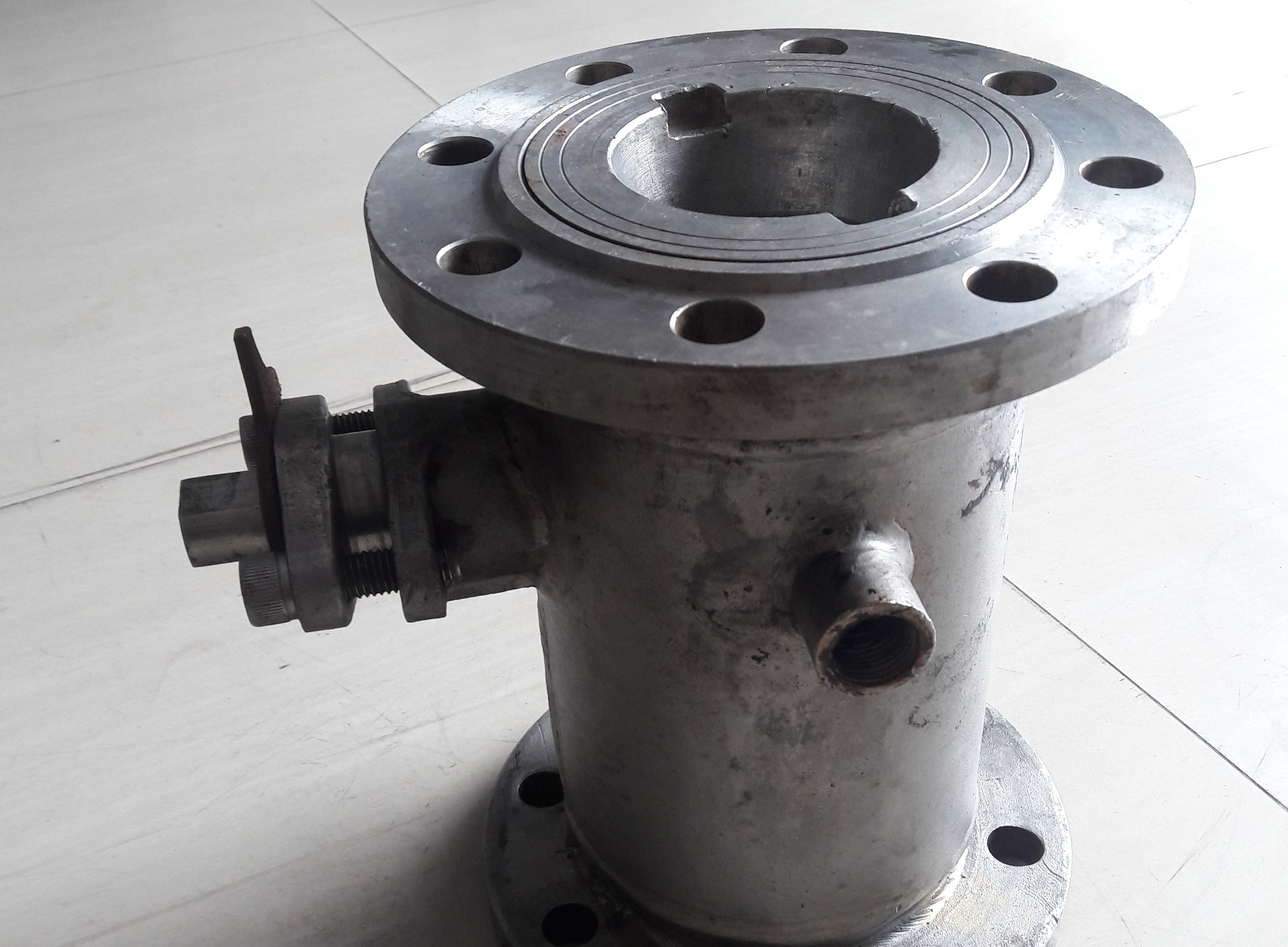 Jacket Ball Valve Stainless Steel Sus304