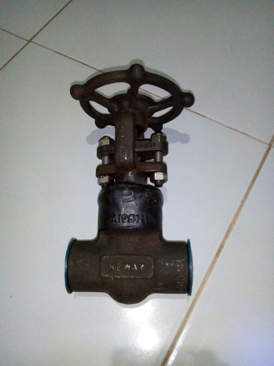 Globe Valve Class #800 Forged Steel A105