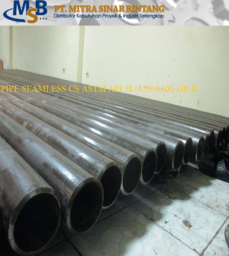 Pipa Seamless Carbon Steel Astm A53 Grade B