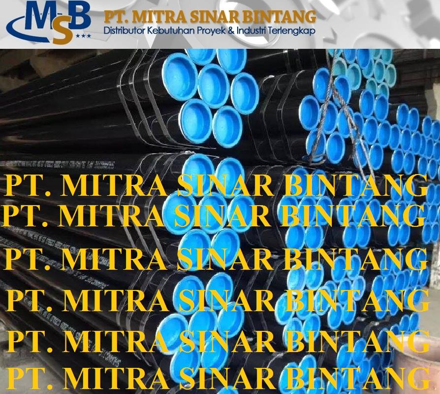 Pipa Seamless Carbon Steel Astm Api 5L/A53/A106 Grade B