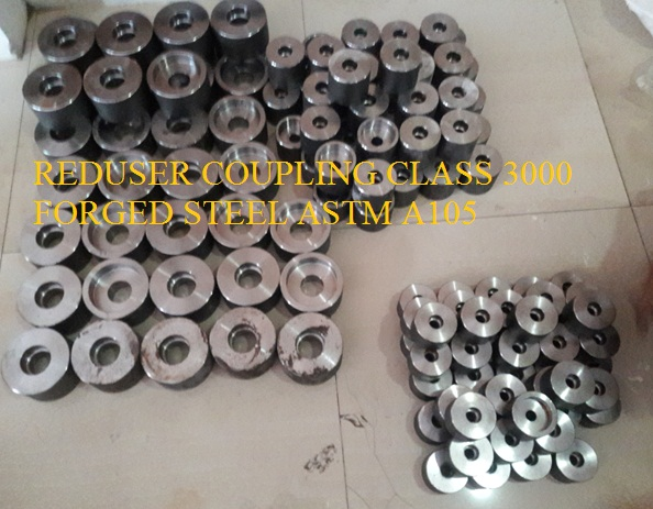 Reduser Coupling Class #3000 Carbon Steel A105