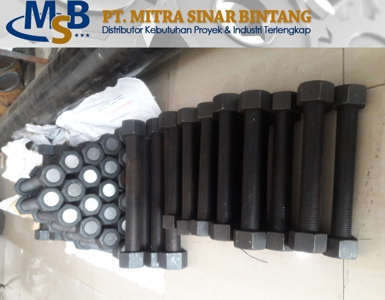 Stud Bolt Alloy Steel ASTM A193 Gr. B7