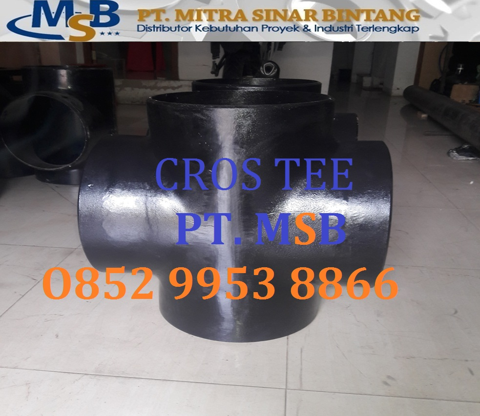 Cross Tee Carbon Steel ASTM A234 WPB