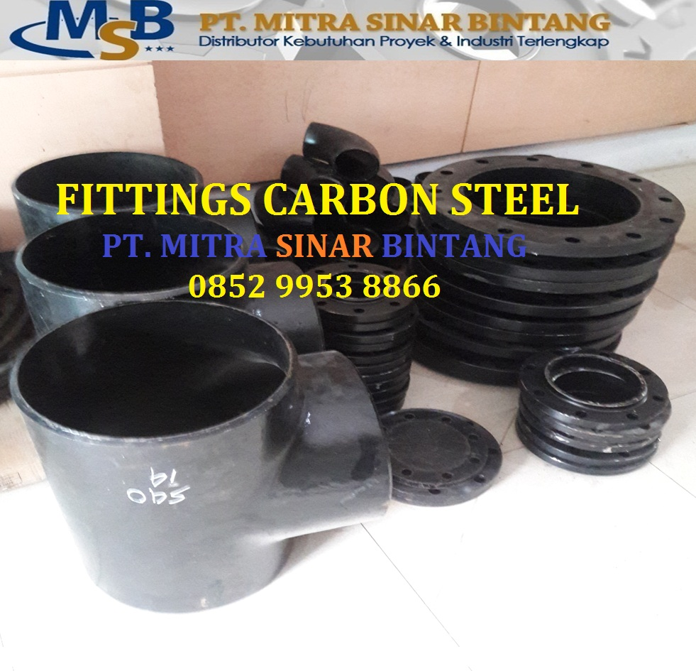 Fittings Tee & Flange Carbon Steel