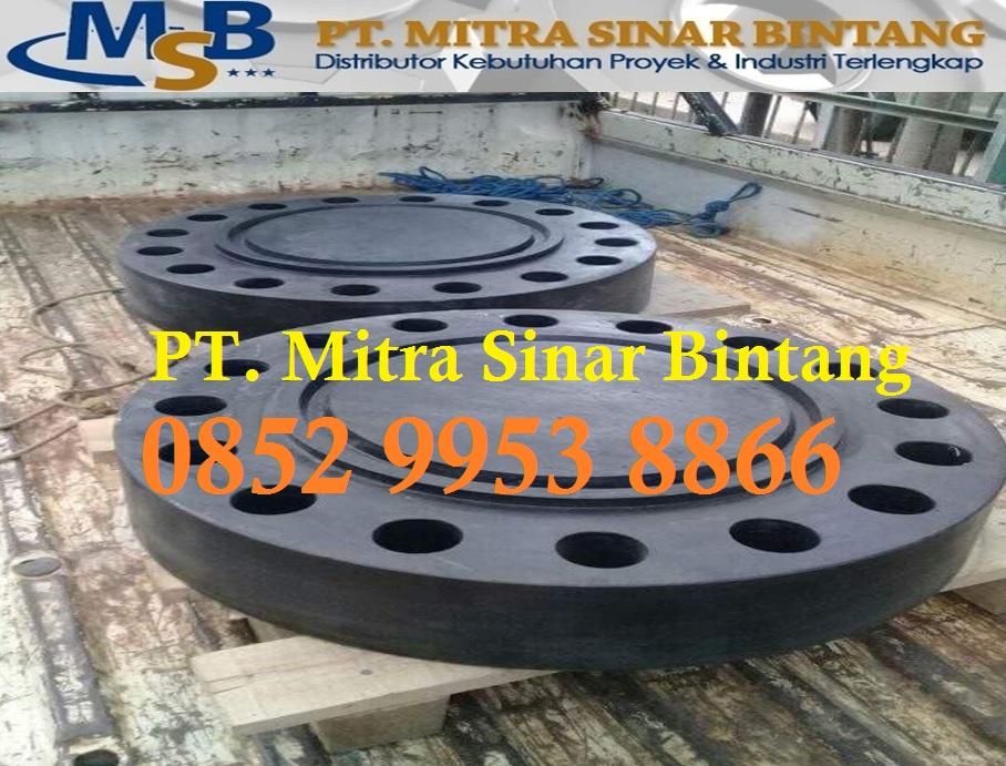 Jual Blind Flange Carbon Steel Astm A105 RTJ